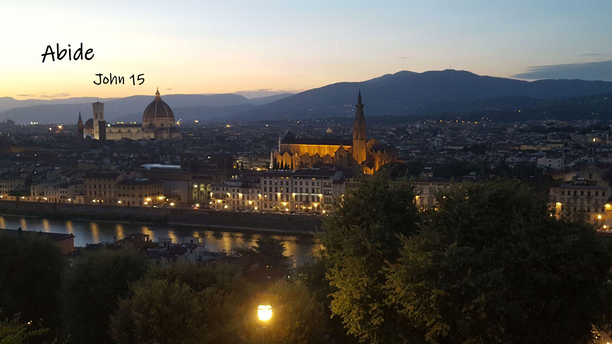 Abide - John XV - Florence Duoma