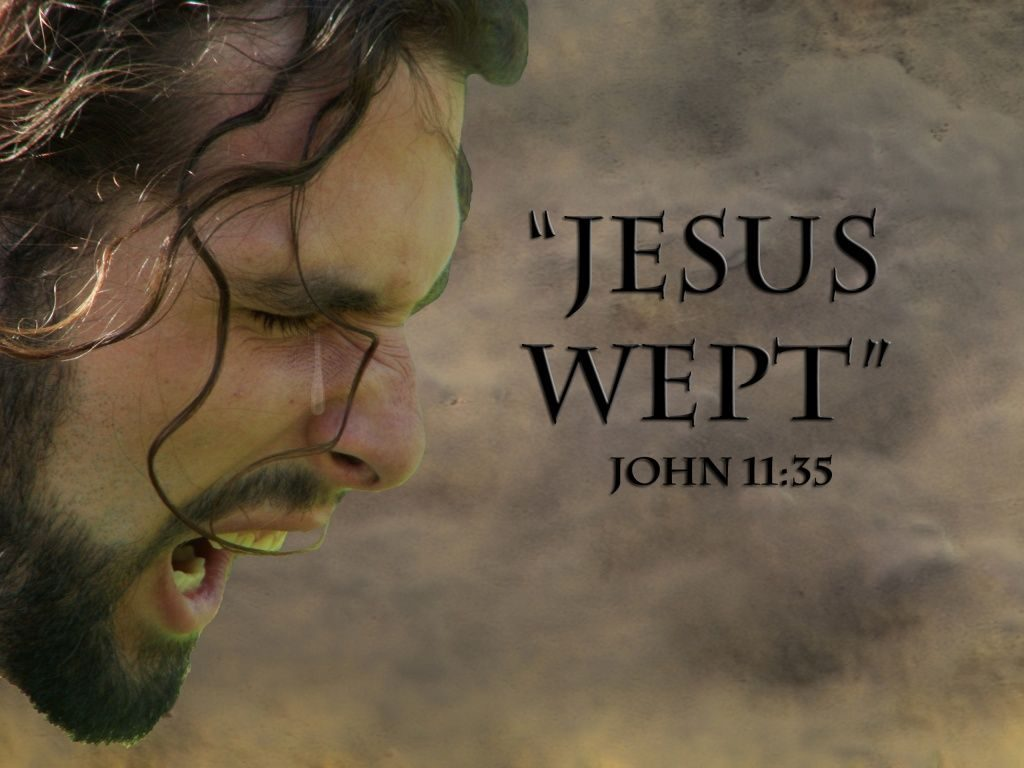 Image result for Jesus Wept